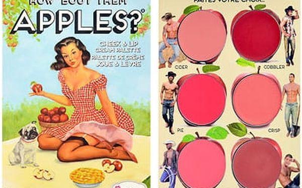 TheBalm How Bout Them Apples? Lip & Cheek Cream Palette 20 g dekorativní kazeta W