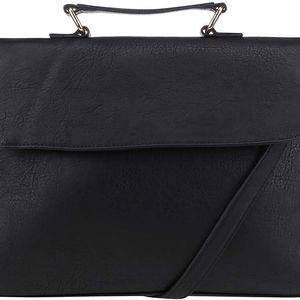 Černá koženková crossbody kabelka Vero Moda Ann