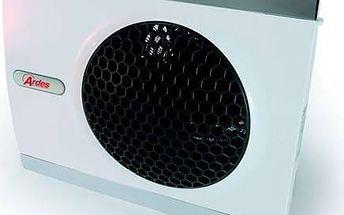 Teplovzdušný ventilátor Ardes 440 stříbrný