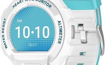 Chytré hodinky ALCATEL GO WATCH SM03, White/Green&Blue (SM03-2CALXE7)