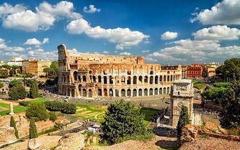 Itálie - Verona, Benátky, Řím, Florencie: 6denní zájezd pro 1 osobu + 3 noci se snídaní
