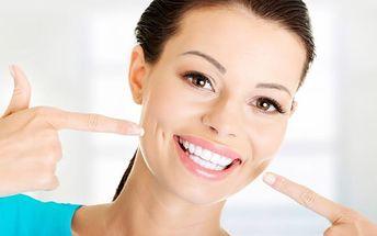 50min. kompletní dentální hygiena s aplikací fluoridačního laku na Praze 2