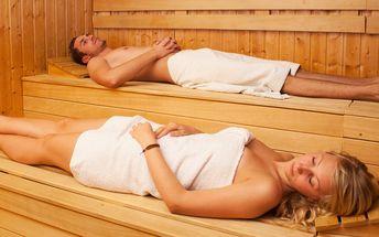 Relaxace v privátní sauně pro 2 v hotelu Anette