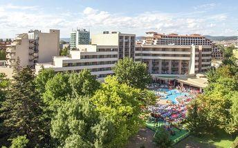 Bulharsko - Slunečné Pobřeží na 8 dní, all inclusive s dopravou Bratislavy, letecky z Prahy nebo Košic