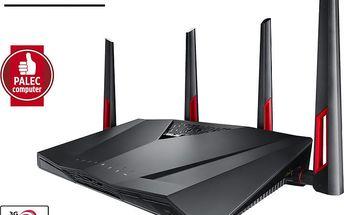 ASUS RT-AC88U Wireless AC3100 - 90IG01Z0-BM3100 + Kupon Hellspy poukazka na stahování 14GB dat v hodnotě 99,-