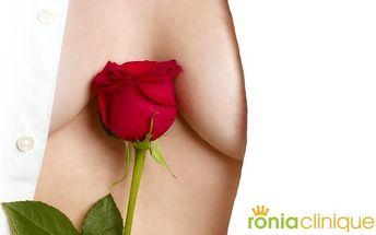Bezbolestné zvětšení, tvarování a zpevnění prsou bez plastiky v Ronia Clinique v Praze