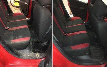 Ruční mytí vozu, tepování, impregnace kůže a další péče v Time Wash Cars