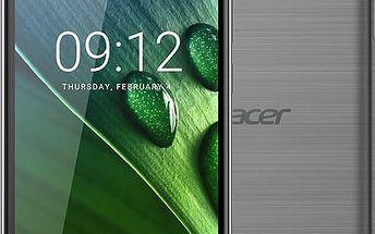 Acer Liquid Z6 Plus LTE - 32GB, šedá - HM.HX2EE.001