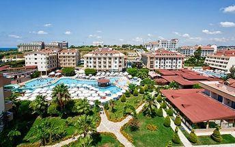 Turecko - Side na 8 až 12 dní, all inclusive s dopravou letecky z Prahy nebo Košic