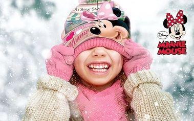 Souprava čepice a rukavice Minnie