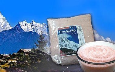 Himálajská sůl bíla