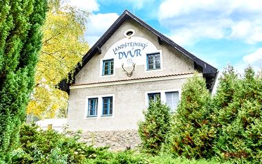 3–6denní pobyt pro 2 s možností polopenze přímo pod hradem Landštejn v jižních Čechách