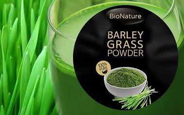 Bionature Mladý zelený ječmen sušená šťáva-200g