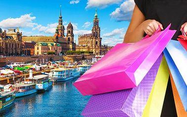 1denní zájezd do Drážďan na nákupy s prohlídkou města pro 1