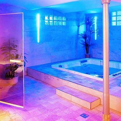3denní wellness pobyt s polopenzí v hotelu Subterra v Krušných horách pro 2