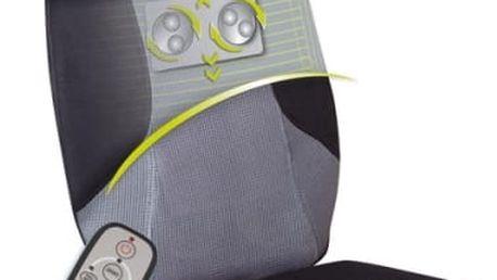 Masážní potah Lanaform RELAX MASS černý/šedý