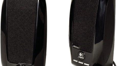 Reproduktory Logitech S-150 2.0 (980-000029) černá