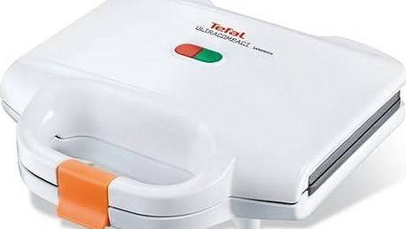 Sendvičovač Tefal Ultra Compact SM1570 bílý