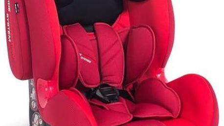 Autosedačka Petite&Mars Prime Isofix 2016, 9-36k červená + Doprava zdarma