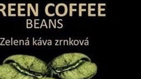 Zelená káva 500 g na detoxikaci organismu-zrnková