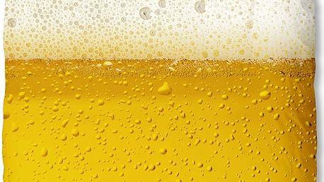 Žluté povlečení Muller Textiel Beer, 140 x 200 cm
