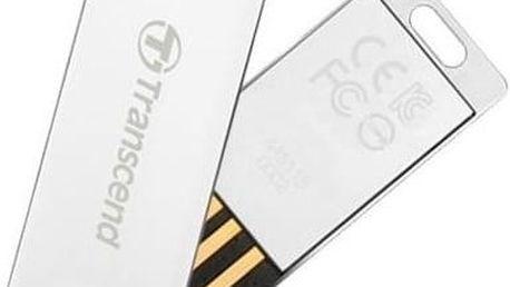 Transcend JetFlash 3S 32GB stříbrný