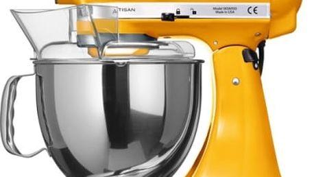 Kuchyňský robot KitchenAid Artisan 5KSM150PSEYP žlutý + dárky
