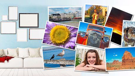 10 kusů fotografií ve velkém formátu A4 nebo A3