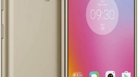 Mobilní telefon Lenovo K6 Power Dual SIM (PA5E0059CZ) zlatý