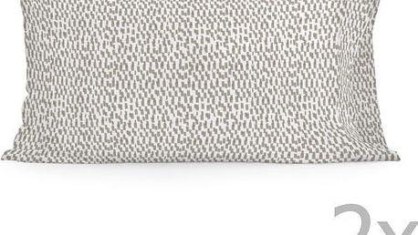 Sada 2 povlaků na polštář Happy Friday Light Printed,50x80cm