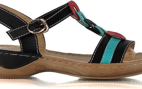 Dámské sandály 6786-1B 38