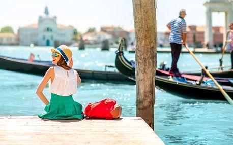 Romantické Benátky s pobytem pro dva