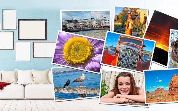 10 fotografií ve velkém formátu A4 nebo A3