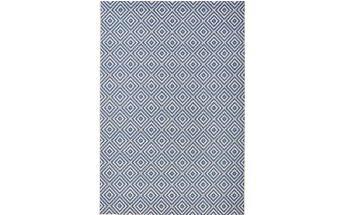Modrý koberec Bougari vhodný i na ven Karo, 140x200 cm