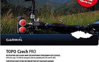 GARMIN TOPO Czech Pro 2015, micro SD - 010-12365-00