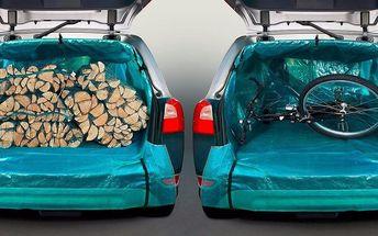 Kufr auta bez škrábanců: víceúčelová plachta Zacky
