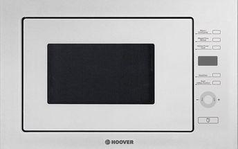 Vestavná mikrovlnná trouba Hoover HMBG 25GDFW + 5 let záruka