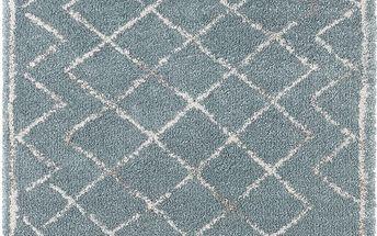 Modrý koberec Mint Rugs Belle, 80x150cm - doprava zdarma!