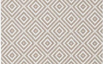 Šedý koberec Bougari vhodný i na ven Karo, 80x150 cm