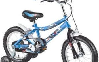 """DHS Speed 1403 14"""" - model 2016 modré dětské kolo"""