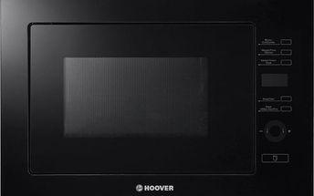 Vestavná mikrovlnná trouba Hoover HMBG 25GDFB + 5 let záruka