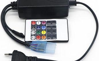 Napájecí adaptér pro LED pásky s dálkovým ovládáním