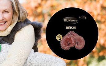 REISHI - čínská houba dlouhověkosti