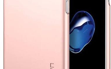 Pouzdro Spigen Thin Fit iPhone 7 rose zlaté Růžová