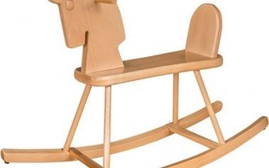 Klasický dřevěný houpací kůň STRAKOŠ®