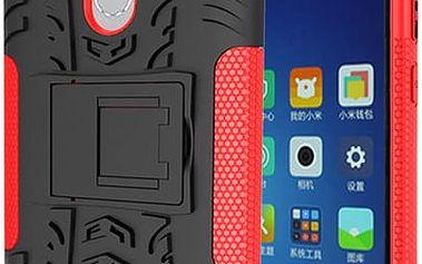 Ochranný kryt se stojánkem pro Xiaomi Redmi Note 3, Note 3 Pro - 3 barvy