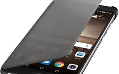 Huawei Original S-View Pouzdro Grey pro Mate 9 (EU Blister) - 51991828