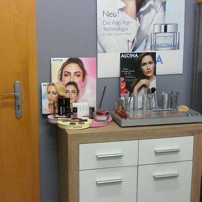 Hloubkové čištění pleti či kosmetické ošetření: UTZ špachtle, maska, úprava obočí, sérum aj.