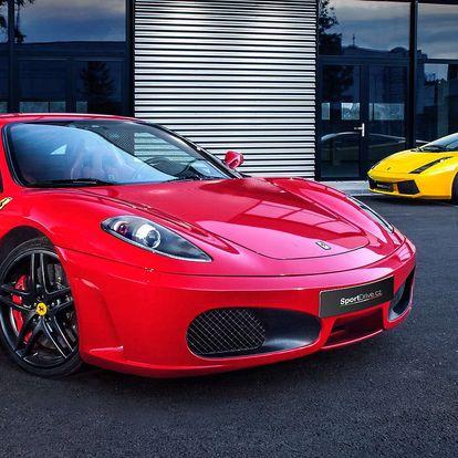 Jízda vsupersportu Ferrari F430 nebo Lamborghini