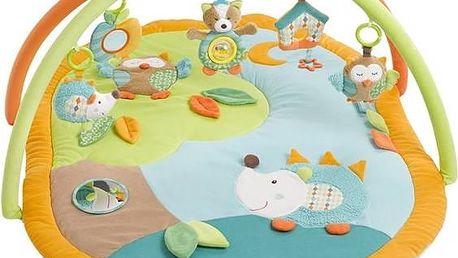 Hrací deka Baby FEHN Forest 3D activity plyšová